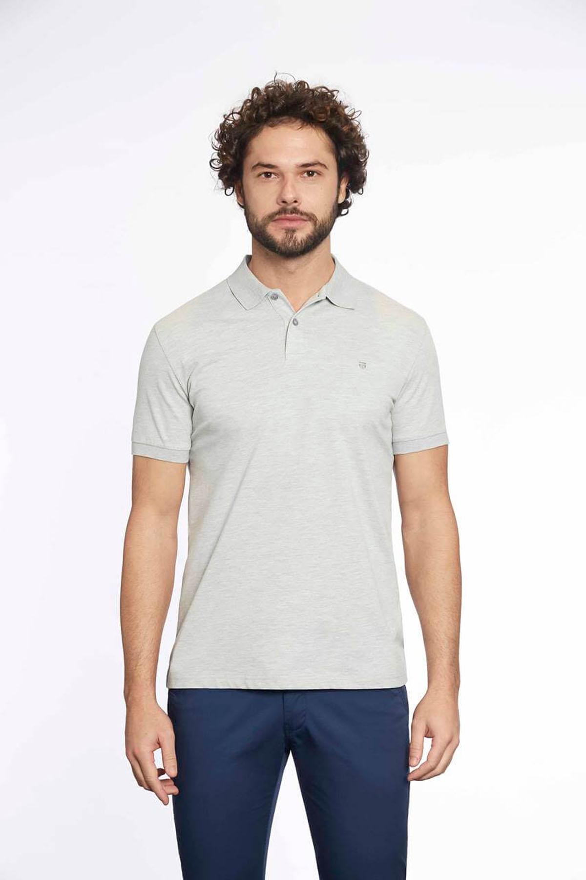 Polo Yaka Erkek T-Shirt Grimel