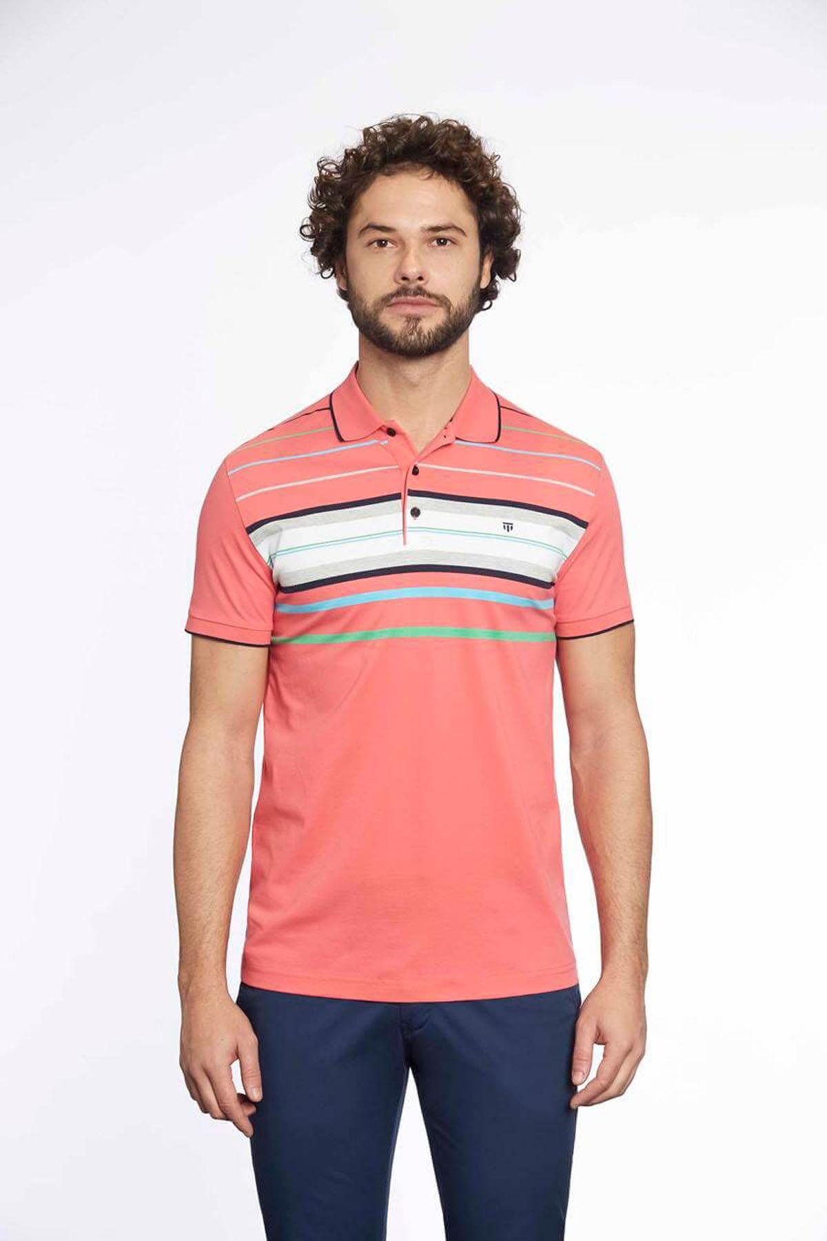 Polo Yaka Erkek T-Shirt A.Güneşi