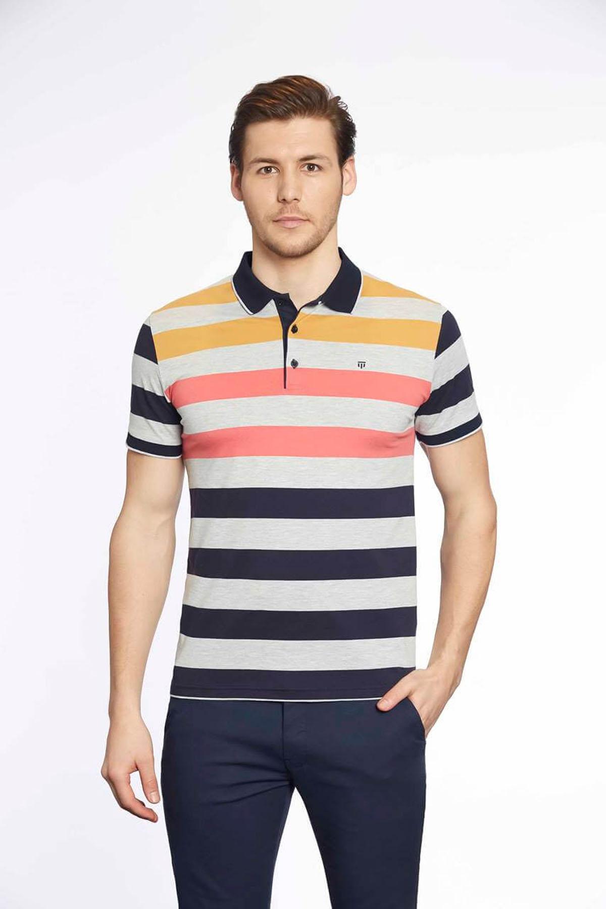 Polo Yaka Erkek T-Shirt Laci Grimel