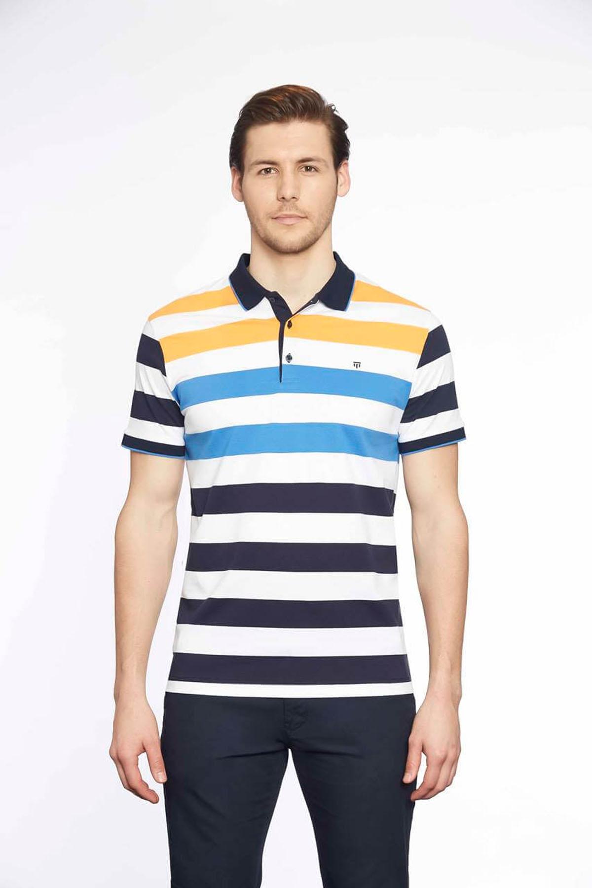 Polo Yaka Erkek T-Shirt Laci R.Saks
