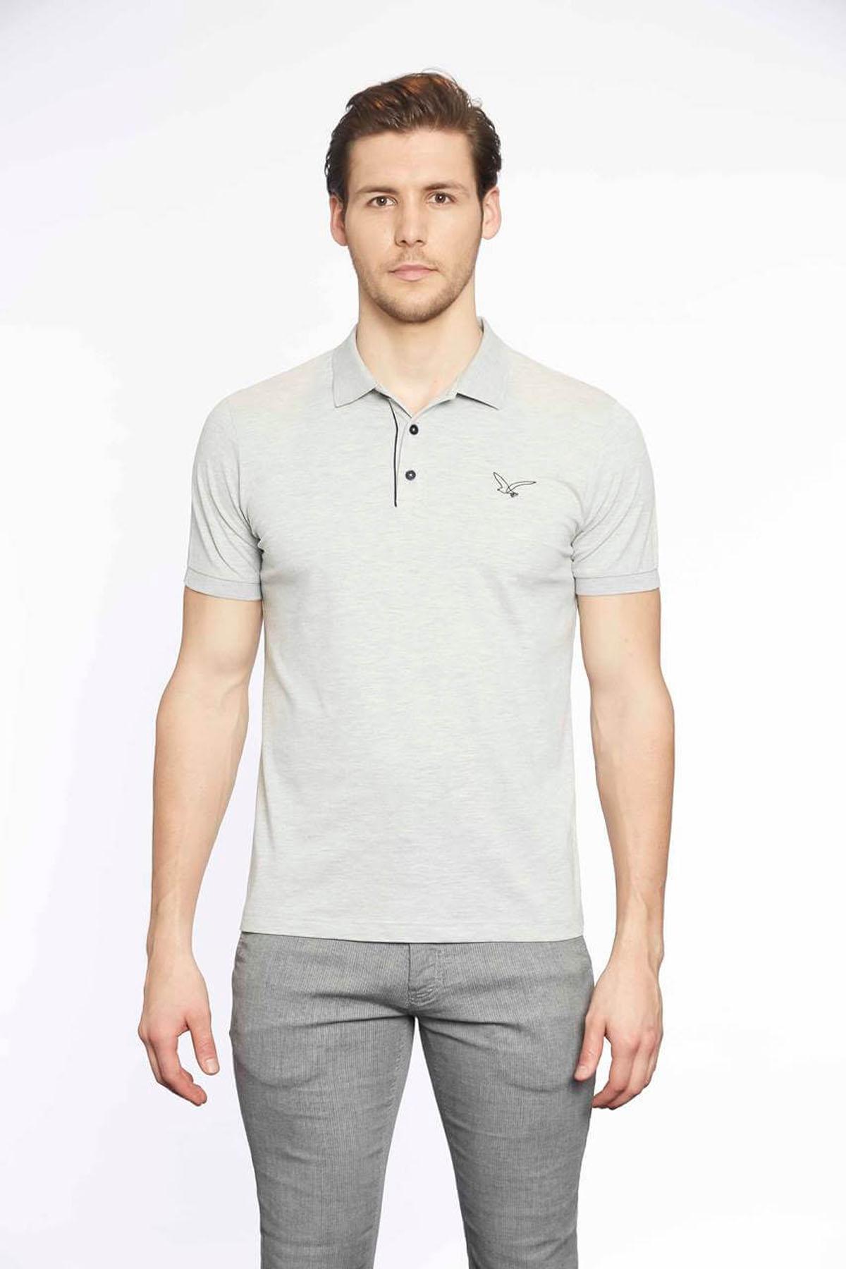 Polo Yaka Erkek T-Shirt Grimelanj