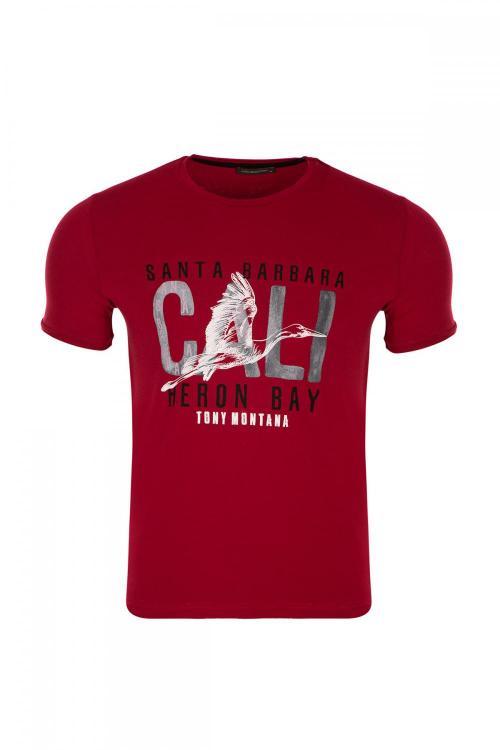 Crew Neck Printed T-shirt