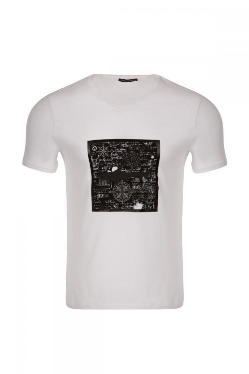 Oversized Crew Neck Regular Fit Printed T-Shirt