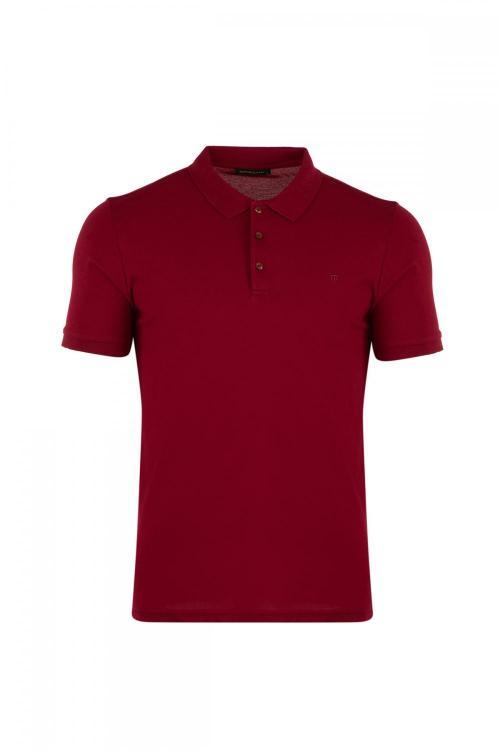 Büyük Beden Polo Yaka T-Shirt