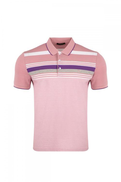 Striped Polo T-shirt