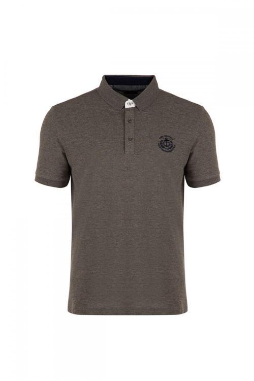 Polo Neck 100% Cotton T-Shirt