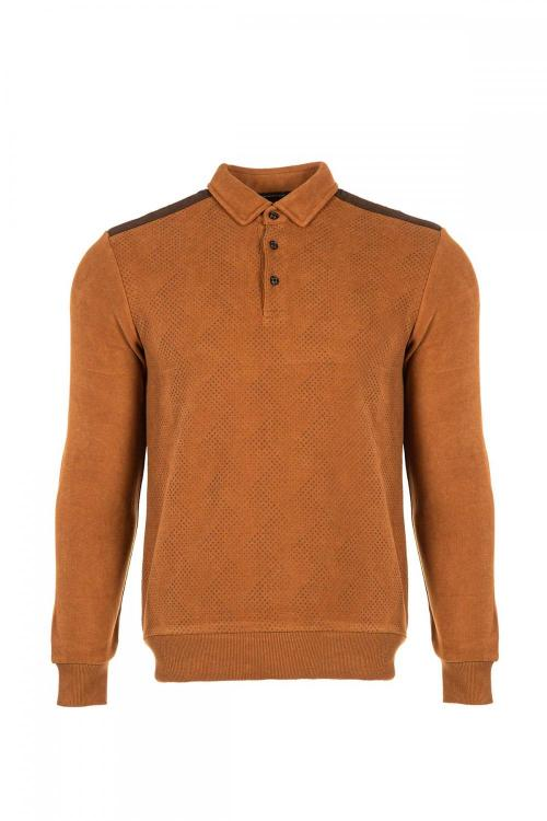 Polo Yaka Sweatshirt