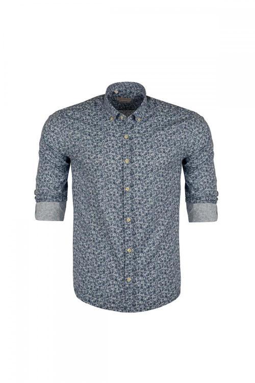 Regular Fit Patterned Shirt