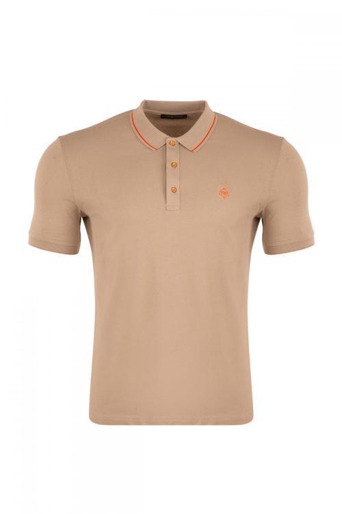 Regular Fit Polo Neck T-Shirt