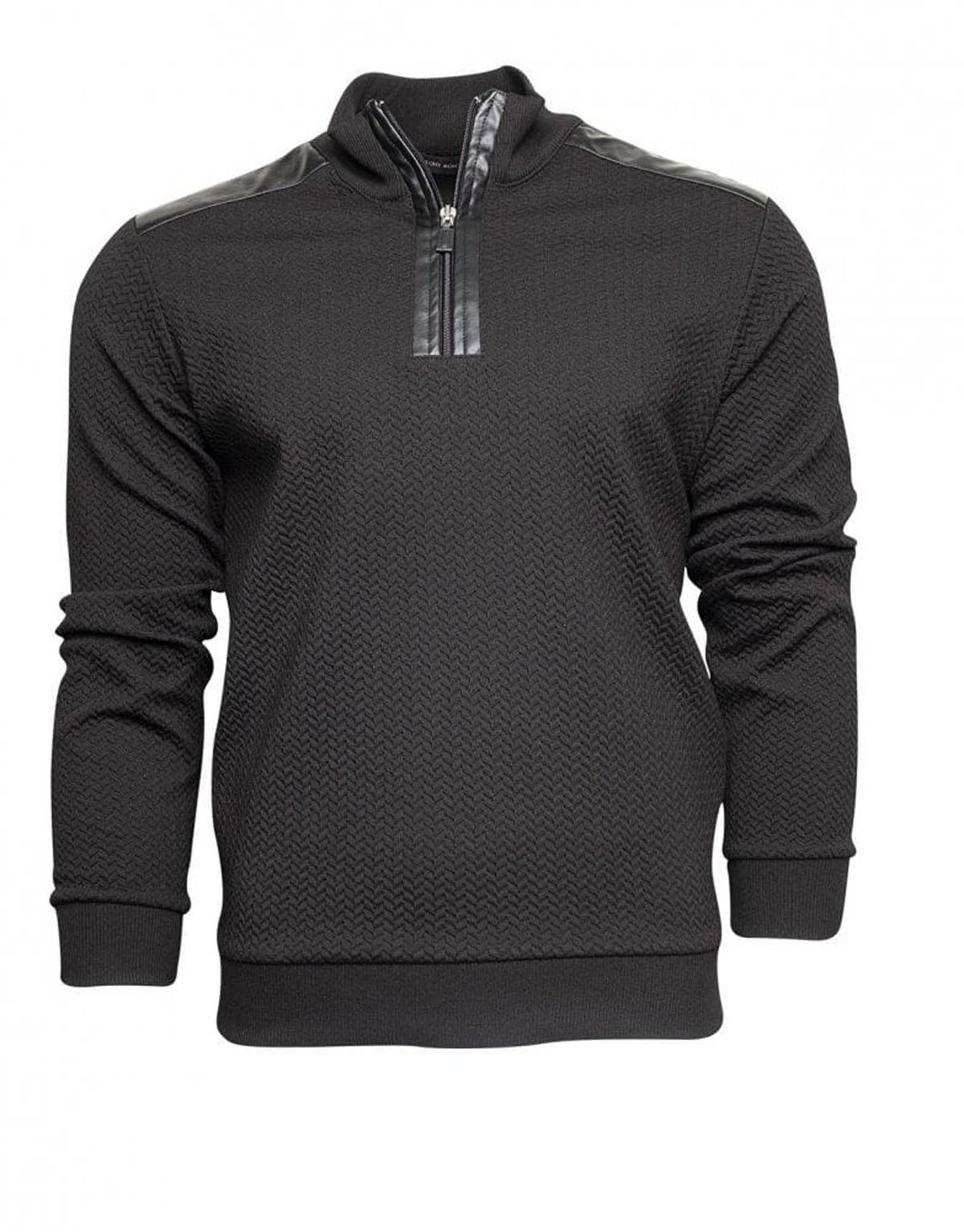 Erkek Sweatshirt Siyah