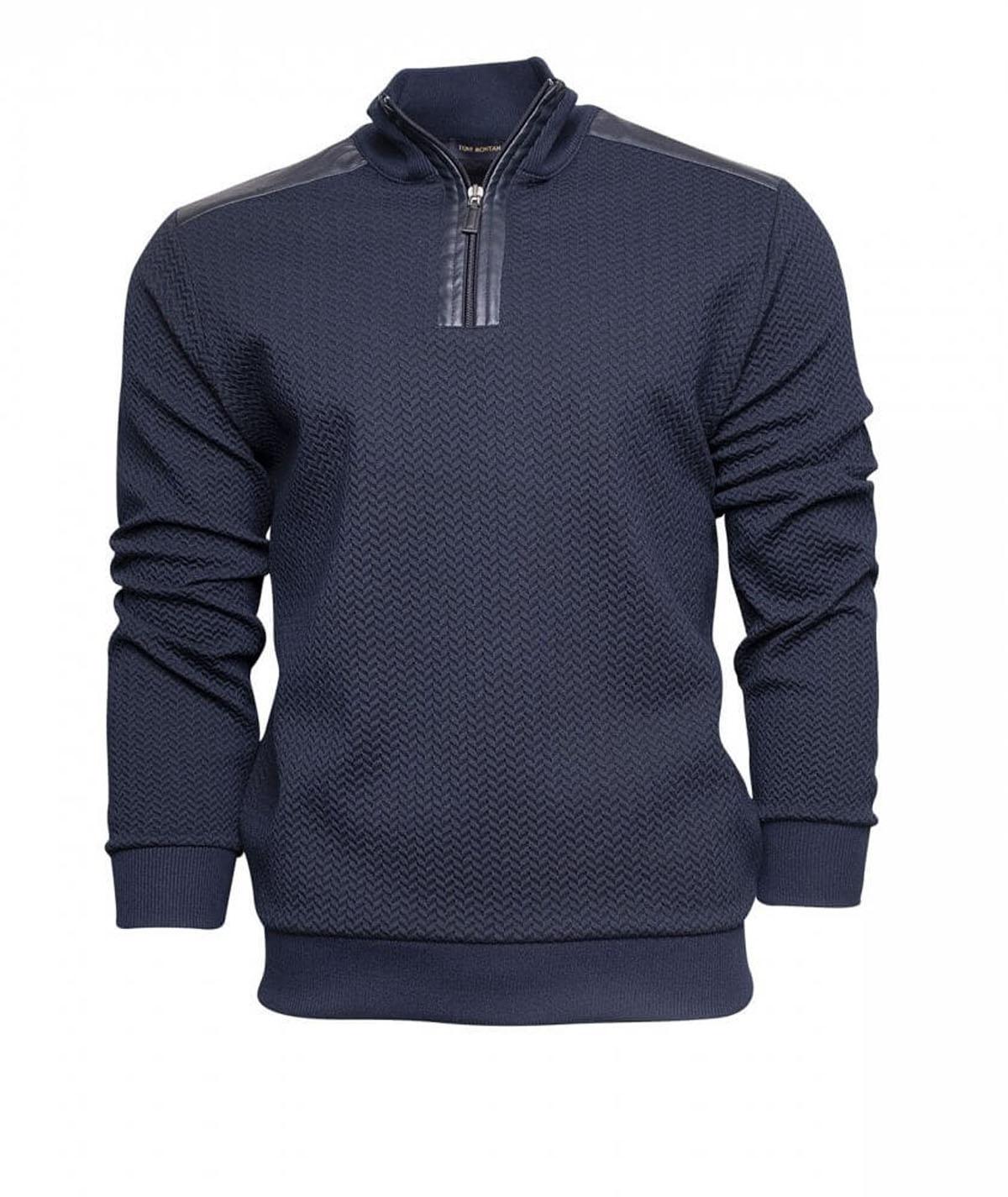 Erkek Sweatshirt Lacivert